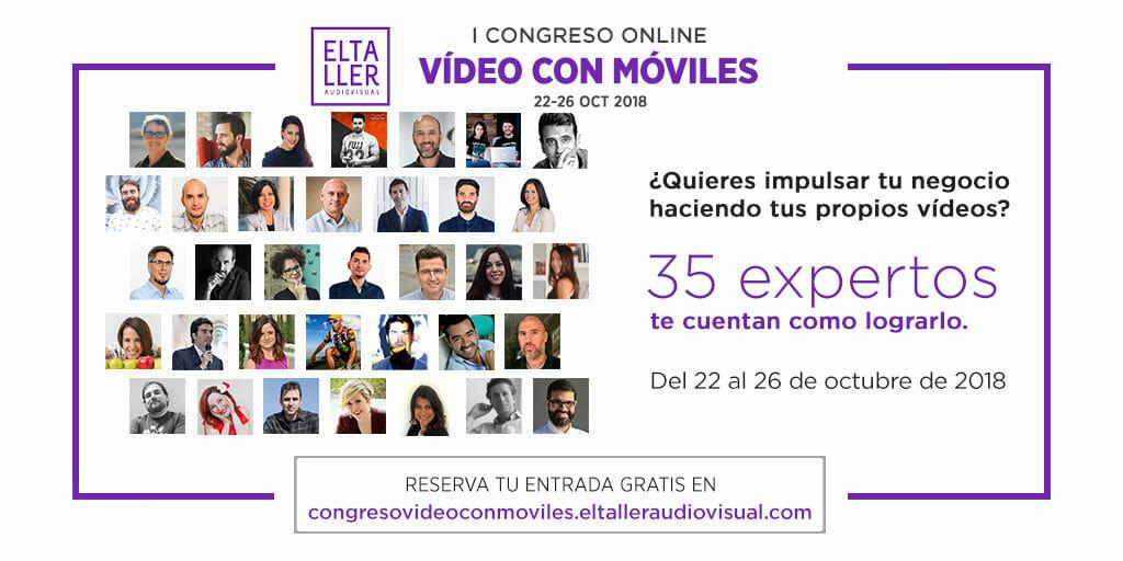 Los mejores expertos y expertas en video marketing y vídeo con móviles