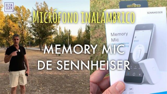 Micrófono inalámbrico, sin cables, Memory Mic de Sennheiser