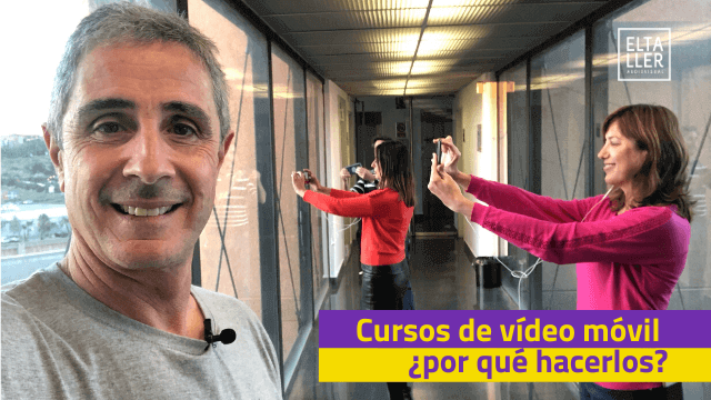 cursos de video con movil
