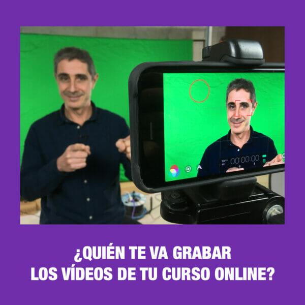 Cómo hacer los vídeos de tu curso online