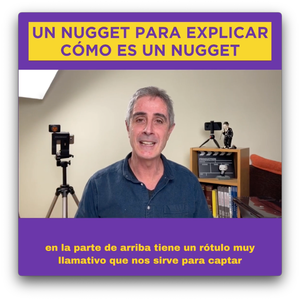Qué es un nugget de vídeo