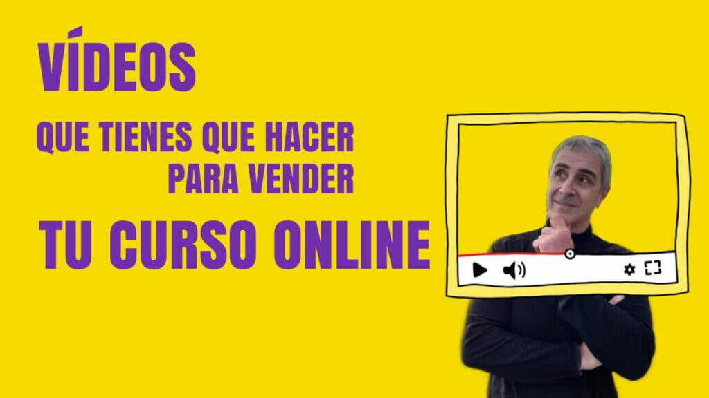 vídeos para vender tu curso online