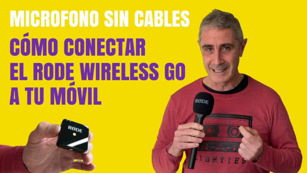 Conectar Rode Wireless al movil