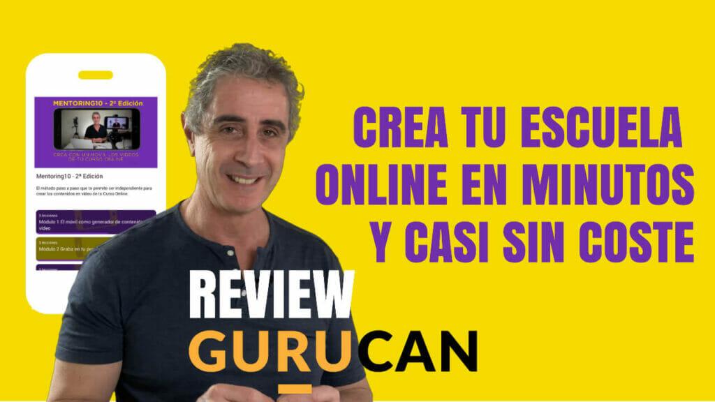 Crear escuela online gurucan